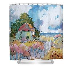Gulf Coast Cottage Shower Curtain