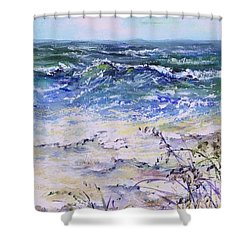 Gulf Coast Florida Keys  Shower Curtain