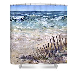 Gulf Coast Perdido Key Shower Curtain