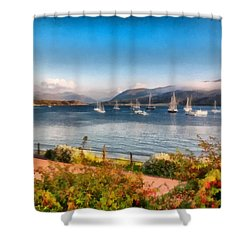 Gulf Of  Ullapool      Shower Curtain