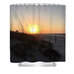 Gulf Shores Sunrise  Shower Curtain