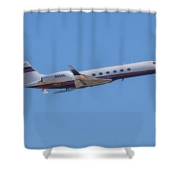 Gulfstream Gv Private Jet Shower Curtain