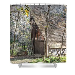 Gull Point Chapel Shower Curtain
