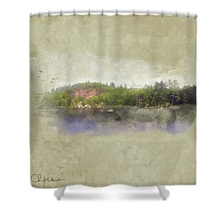 Gull Pond Shower Curtain