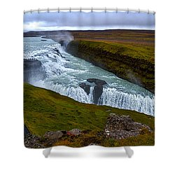 Gullfoss Waterfall #2 - Iceland Shower Curtain