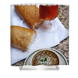 Gumbo Lunch Shower Curtain
