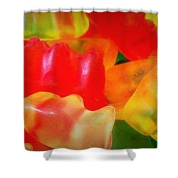 Gummies Shower Curtain