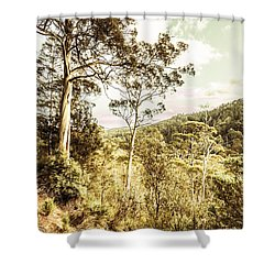 Shower Curtain featuring the photograph Gumtree Bushland by Jorgo Photography - Wall Art Gallery