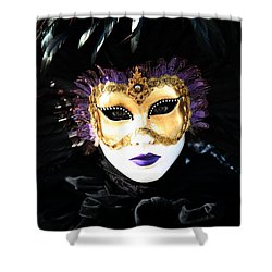 Gunilla Maria's Portrait 2 Shower Curtain