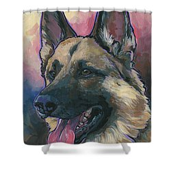 Gunner Shower Curtain by Nadi Spencer