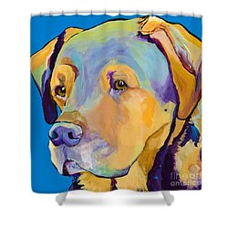 Gunner Shower Curtain by Pat Saunders-White