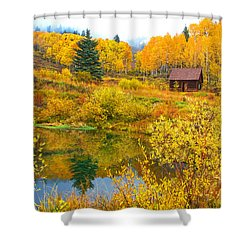 Gunnison Reflection  Shower Curtain