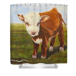Gus, Cow Shower Curtain