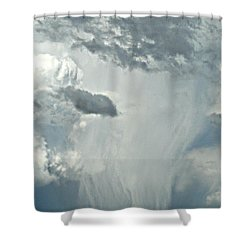 Gust Of Rain Shower Curtain
