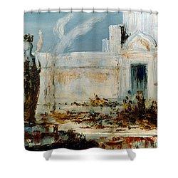Gustave Moreau: Helene Shower Curtain by Granger