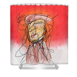 Gusts, Dust, The Sun... Shower Curtain