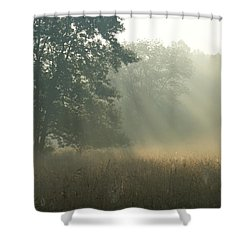 Guten Morgen Shower Curtain
