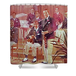 Guy Lombardo The Royal Canadians Shower Curtain