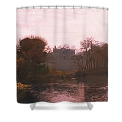 Guys Cliffe House Warwick England Shower Curtain