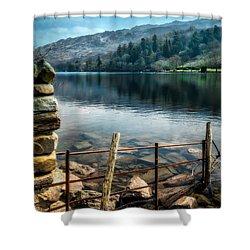 Gwynant Lake Shower Curtain