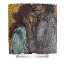 Gypsie Lovers Shower Curtain