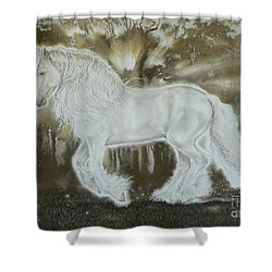 Gypsy Dreams Shower Curtain by Louise Green
