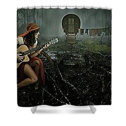 Gypsy Life Shower Curtain