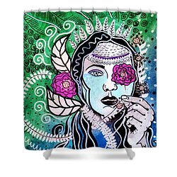 Gypsy Mary Shower Curtain