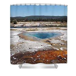 Gyser Basin Shower Curtain