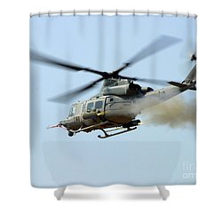 H-1 Upgrades Test Pilot, Launches Shower Curtain by Stocktrek Images