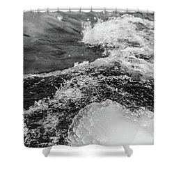 Shower Curtain featuring the photograph H2O by Alex Lapidus