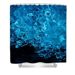 H2o....more Precious Than Diamonds Shower Curtain by Sean Sarsfield