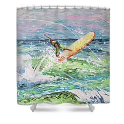 H2ooh Shower Curtain