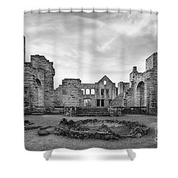 Ha Ha Tonka Ruins Shower Curtain