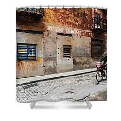 Habana Vieja Ride Shower Curtain