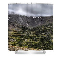Habitable  Shower Curtain