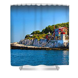 Habitat Shower Curtain by Graham Hawcroft pixsellpix