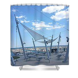 Habor View Shower Curtain