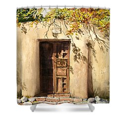 Hacienda Gate Shower Curtain