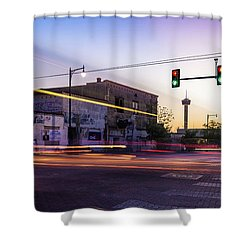 Hackberry And Commerce Shower Curtain
