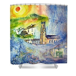 Hacketstown- Aide Memoire  Shower Curtain