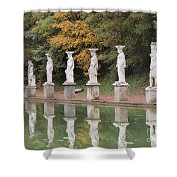 Hadrian's Villa 4 Shower Curtain