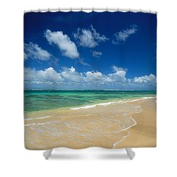 Haena Beach Shower Curtain by Greg Vaughn - Printscapes