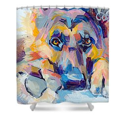 Hagen Shower Curtain by Kimberly Santini
