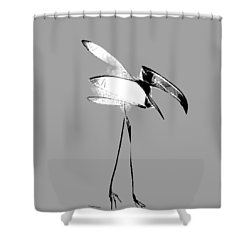 Haggard Shower Curtain