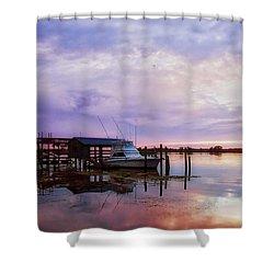 Hagley's Landing Shower Curtain
