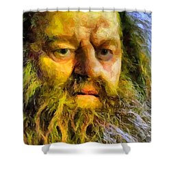 Hagrid Shower Curtain