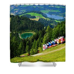 Hahnenkamm - Kitzbuehel Shower Curtain