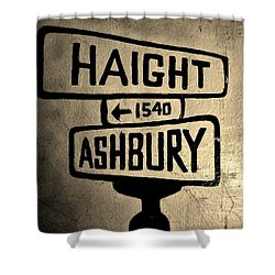 Haight Ashbury Shower Curtain by Dany Lison