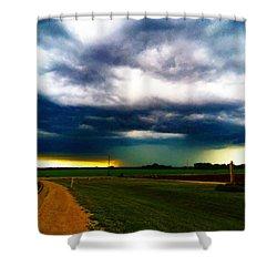 Hail Core Illuminated Shower Curtain